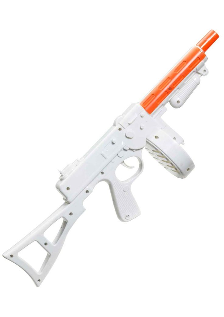 <p>Make your 1920's gangster costume look complete with this awesome <strong>white Tommy gun</strong> made by Forum Novelties. This white Tommy Gangster gun is the perfect roaring 20's fancy dress accessory for any gangster themed party! See below for full description.</p>