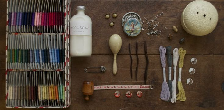 Gift Ideas for Haberdashery Lovers at Loop, London. www.loopknitlounge.com