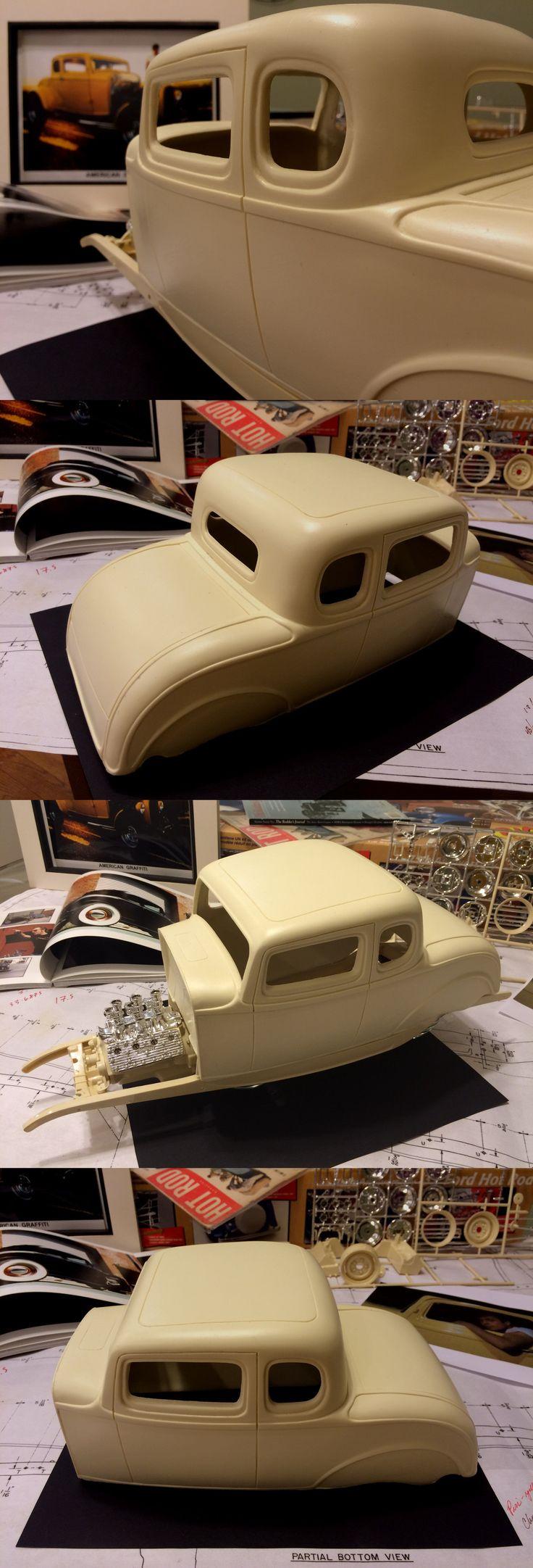 Hot rod 2582 new 1 8 scale chopped 1932 ford 5 window body big deuce