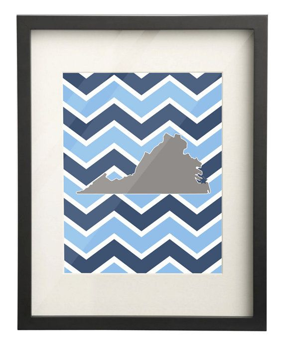 Old Dominion University ODU Virginia State by PaperFrecklesCampus, $15.00