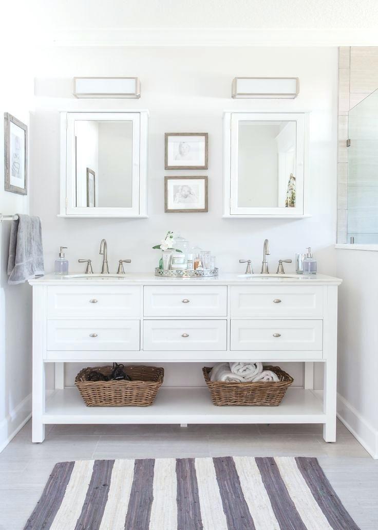 Image Result For Bathroom Vanity Open Bottom Shelf Gray And