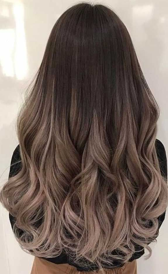 The Best Hair Color Trends And Styles For 2020 In 2020 Brown Hair Balayage Long Hair Color Gorgeous Hair Color
