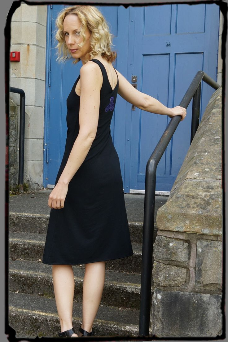 Black Bamboo Dress from Squeezed.ca It Fits, it Flows, it Flatters ! You'll Love it ! http://squeezed.ca/shop/category/dresses