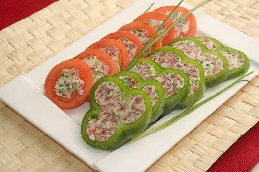 Фаршированные овощи. | Школа шеф-повара