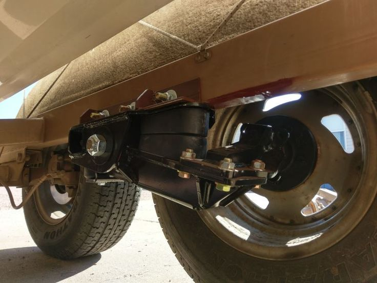 Timbren Heavy Duty Axle Less Trailer Suspension 4 Quot Lift