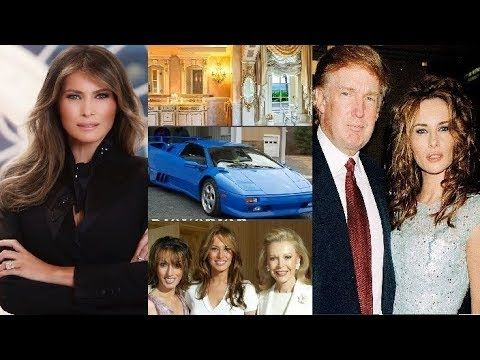 Melania Trump- Lifestyle | Net worth | cars | houses | jet | Family | Biography | Information - YouTube