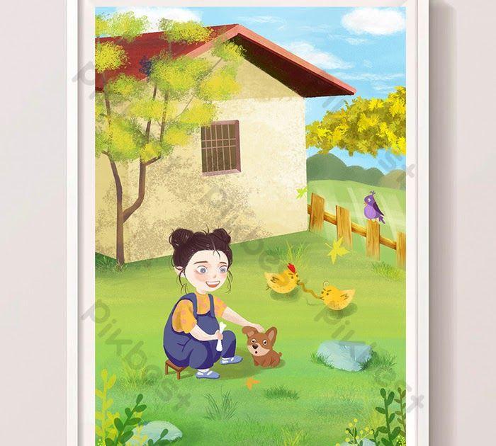 30 Gambar Kartun Batu Menangis Ilustrasi Lucu Kartun Rumah Ladang