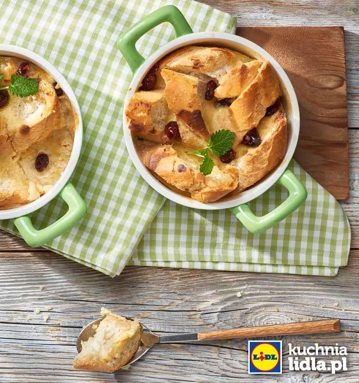 Pudding chlebowy. Kuchnia Lidla - Lidl Polska. #lidl #pawel #pudding
