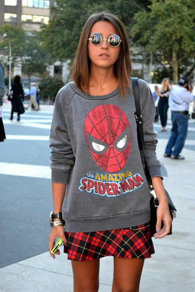 Spiderman Sweater. I need this one so, obviously cause I mean...its spiderman!!
