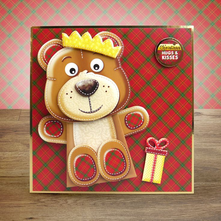 created from Hunkydory Crafts' Christmas Box Pops! - Christmas Cuties