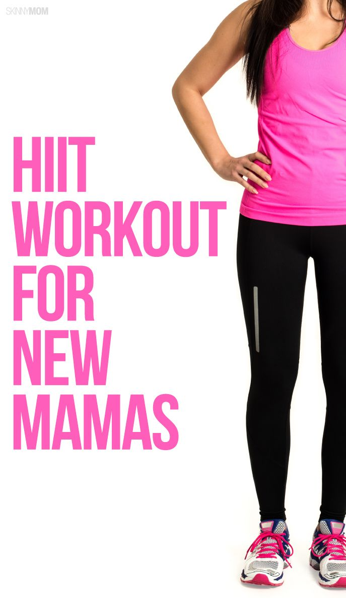 Get your body back with this HIIT training workout