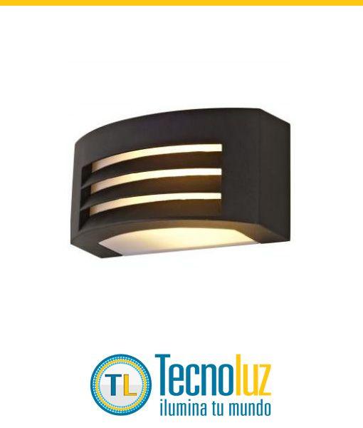 Arbotante 1 Luz Aluminio para exteriores. En existencia y venta en línea exclusivamente. Precio: $635.00 Pesos