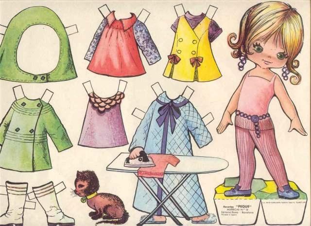 Paper dolls.