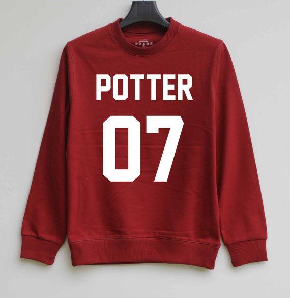 POTTER 07 Sweatshirt Harry Potter Sweater Stiles Stilinski Shirt Hoodie – Size XS S M L XL - $29.99