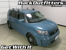 """This complete multi-purpose base roof rack is for the2008, 2009, 2010, 2011, 2012,2013, 2014, and 2015 Scion xB Hatchthat has the """"""""bare"""""""" or """"""""normal"""""""" roof, includes models equipped with a sunroof"""