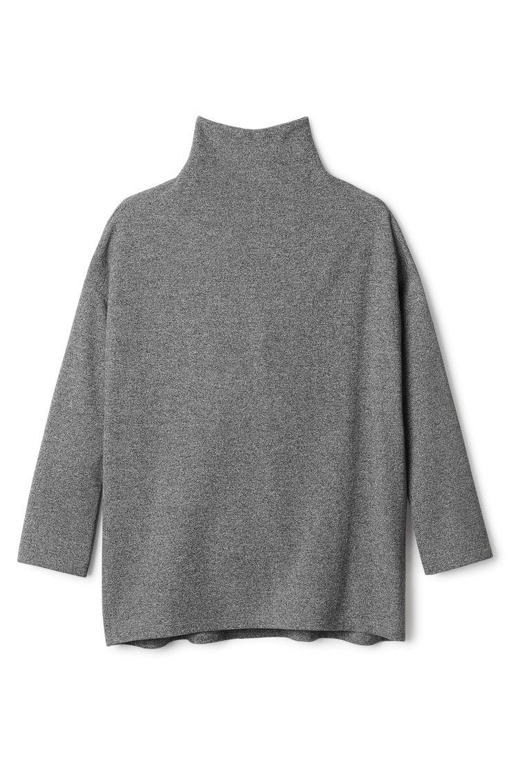 Weekday   Knitwear   Bejing zip polo