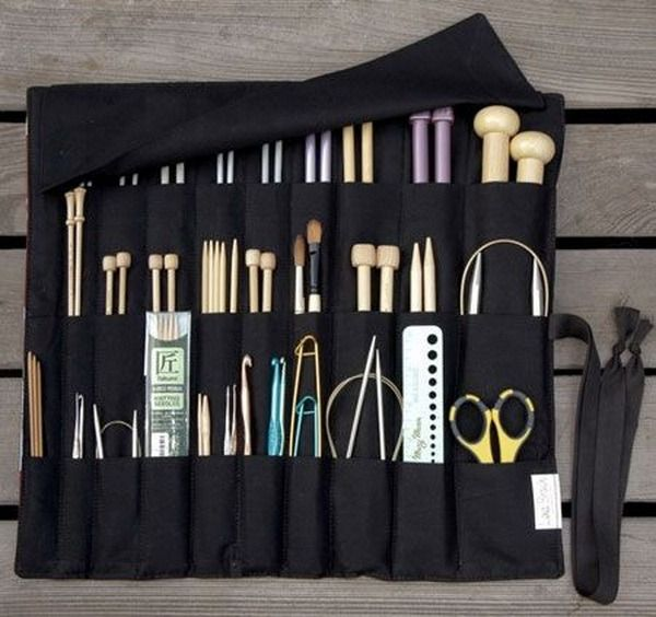 Маленькие хитрости для хранения крючков, спиц, иголок - Ярмарка Мастеров - ручная работа, handmade