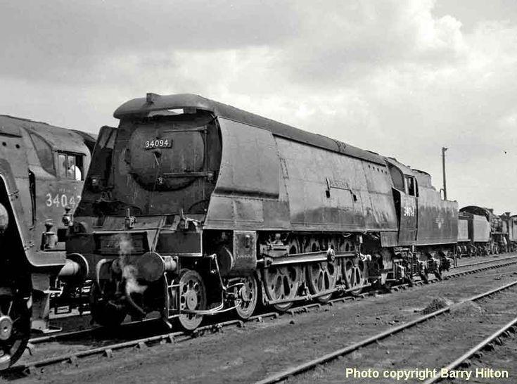 34094 Mortehoe.Steam Locomotive. Паровоз.