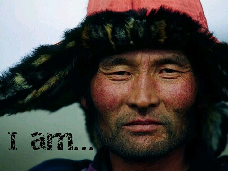 A Mongolian man