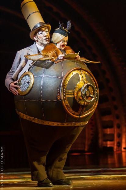 Kurio Cabinet des Curiosités, Cirque du Soleil au Vieux Port de Montreal