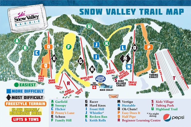 Ski Snow Valley - Barrie, ON