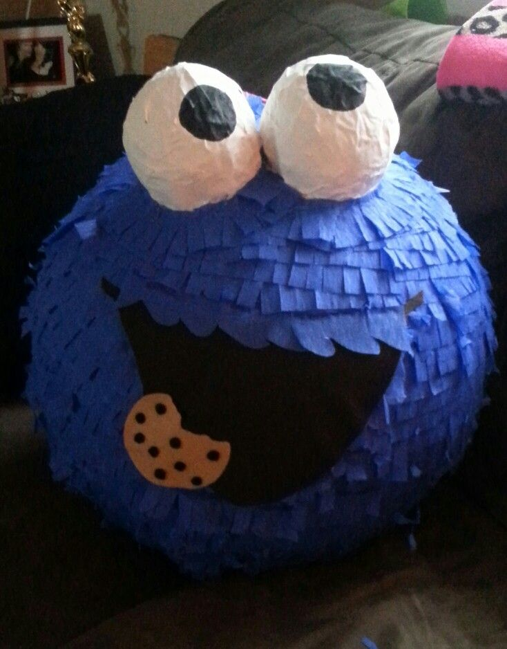 Cookie monster pinata                                                       …