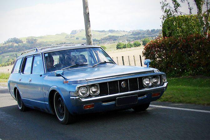 1974 Toyota Crown Station Wagon (via READERS RIDES > Speedhunters)