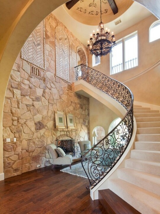 Mediterranean Staircase Staircase Design Beautiful