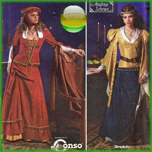 pattern kingdom ladies medieval - photo #18
