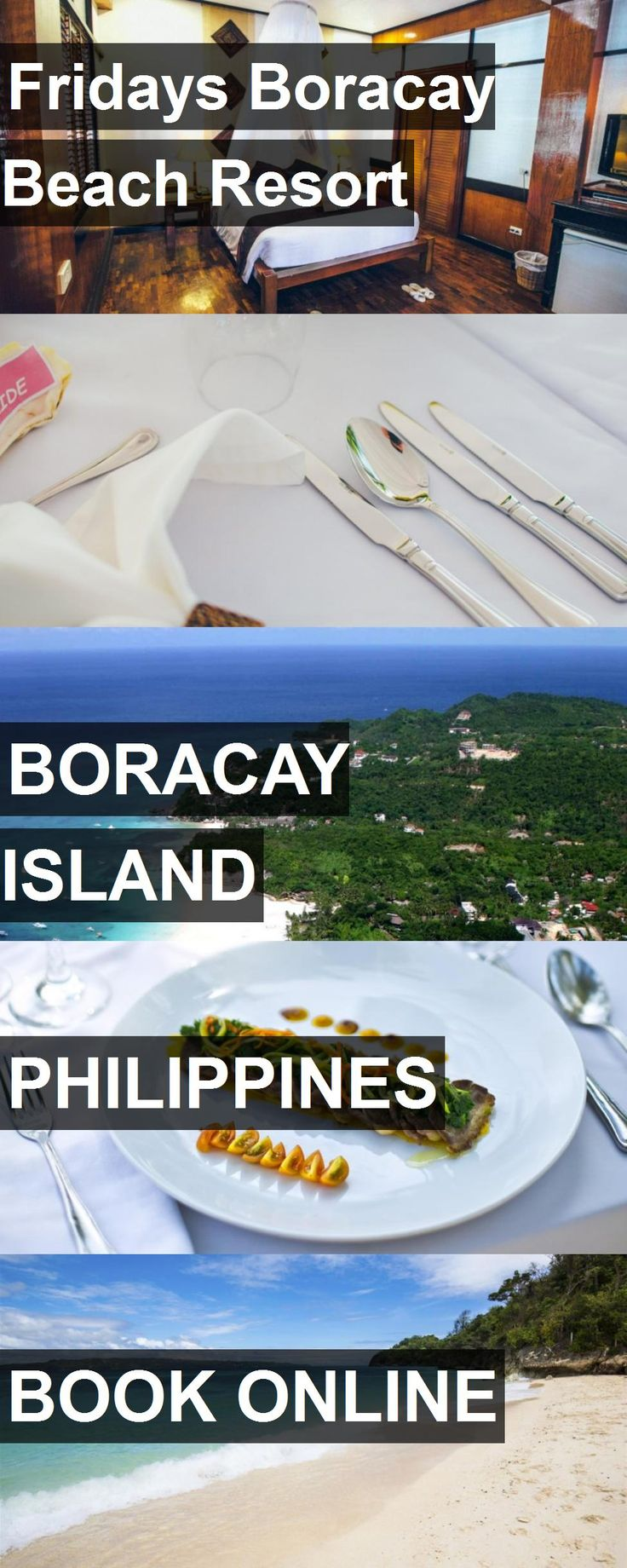 Hotel Fridays Boracay Beach Resort in Boracay Island, Philippines. For more information, photos, reviews and best prices please follow the link. #Philippines #BoracayIsland #travel #vacation #hotel