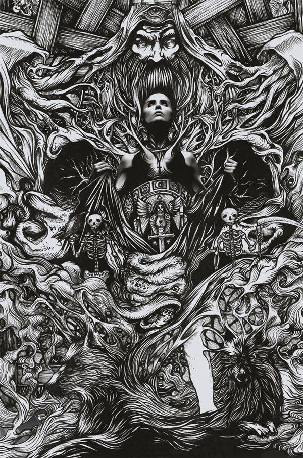 666 - Ragnarök by DZO Olivier, via Behance