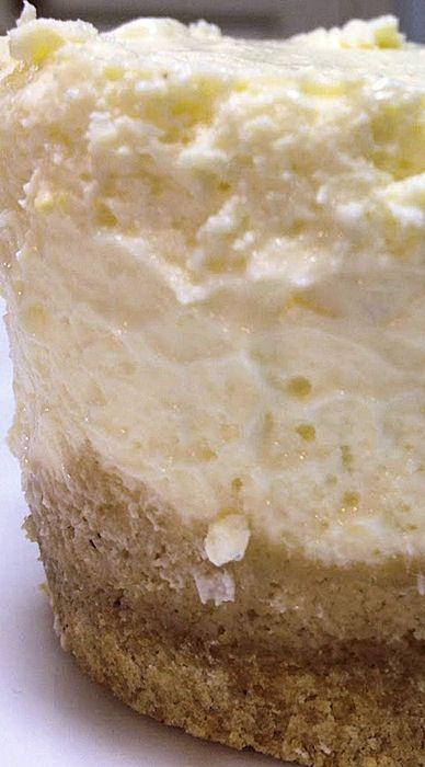 Mini Pressure Cooker Cheesecakes in Jars