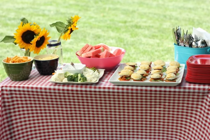 Party idea: The Ultimate Summer Hoedown BBQ