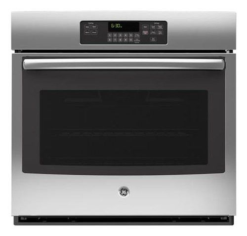 """GE - 30"""" Built-In Single Electric Wall Oven - Stainless - Larger Front"""