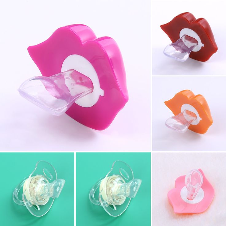 1PC Baby Pacifiers Safe Food Grade ABS Silicone Funny Baby Nipples Baby Infant Teeth Soothers Pacifiers 6 Styls