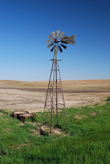 """North Dakota farm field. It's not glamorous, but as one of our Territory staffers who hails from there says, """"It's one of the most beautiful places you'll ever see."""""""
