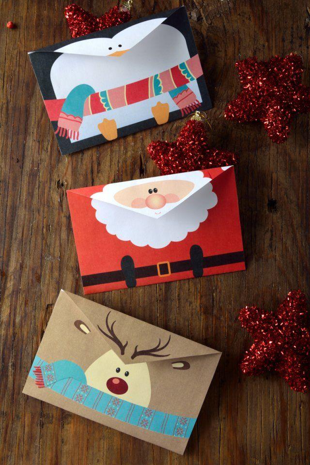 Las 25 mejores ideas sobre manualidades navide as de - Tarjetas de navidad manuales ...