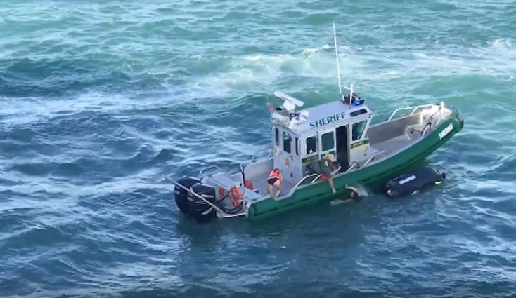 Jet Skiers Nearly Run Over by Giant Cruise Ship – Amazing Rescue Caught on Camera March 13, 2017 by Mike Schuler Some amazing footage out of Port Canaveral, Florida this weekend after two jet skiers fell into the water right in the path of giant Carnival cruise ship. Luckily for the two women a Brevard County sheriff was right there to pull them to safely as the cruise ship bore down on them. http://gcaptain.com/jet-skiers-nearly-run-over-by-giant-cruise-ship-amazing-rescue-caught-on-camera/