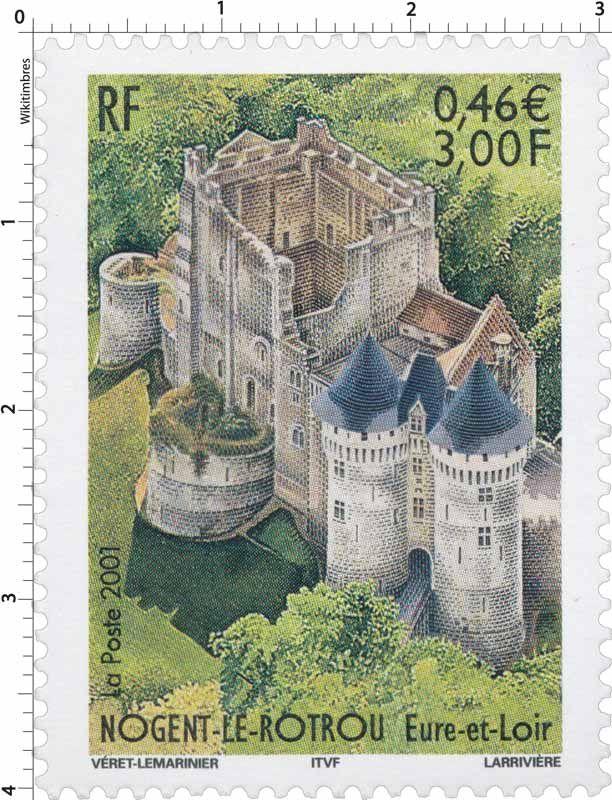 Timbre : 2001 NOGENT-LE-ROTROU Eure-et-Loir | WikiTimbres