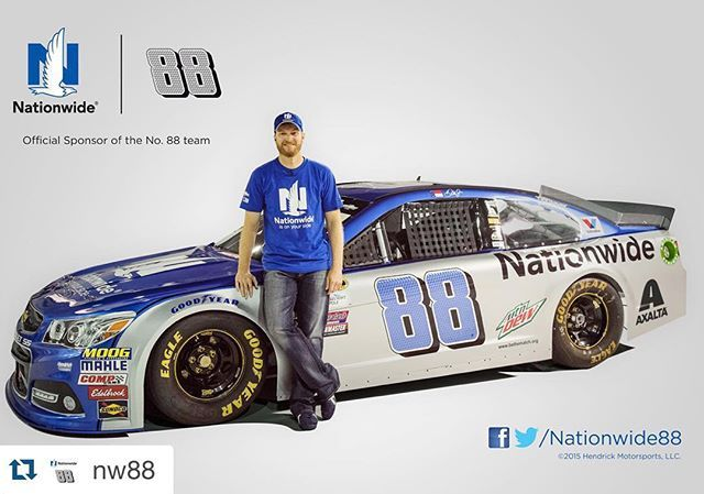 #Repost of @nw88:  Check out @DaleJr's 2016 No. 88 Nationwide @TeamChevy SS. Head over to our Facebook or Twitter to see how we surprised 10 lucky JR Nation fans with an once in a lifetime experience at @TeamHendrick. #NW88JR
