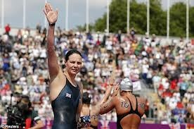 Was at the open water swimming yesterday Keri Anne Payne did us proud narrowly coming 4th well done