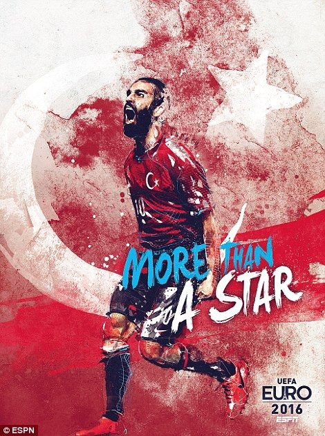 #EURO2016 Arda Turan provides the star dust for Turkey