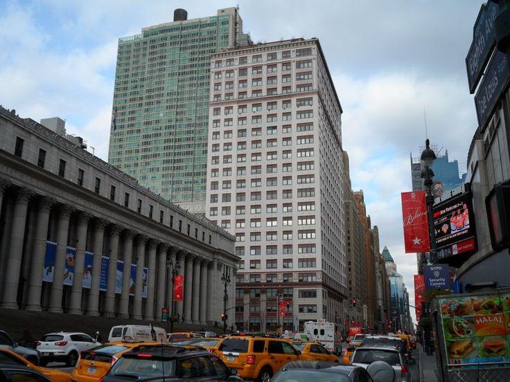 Five Penn Plaza From Corner Near Penn Station MSG New York City Pinterest