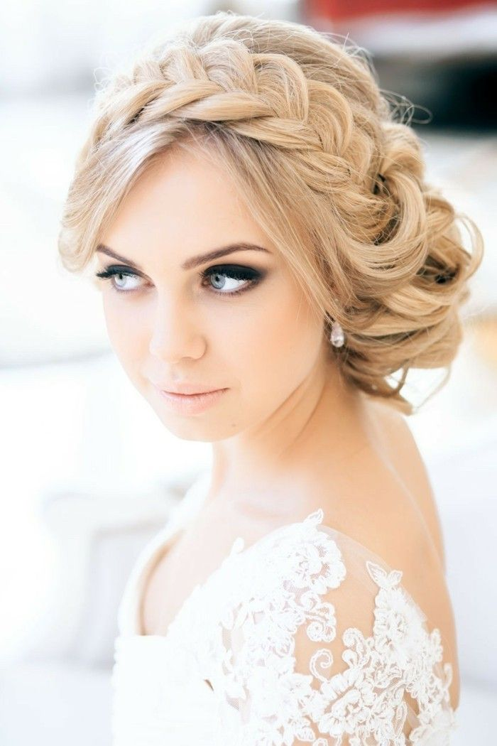 359 best images about brautfrisuren bridal hairstyles. Black Bedroom Furniture Sets. Home Design Ideas