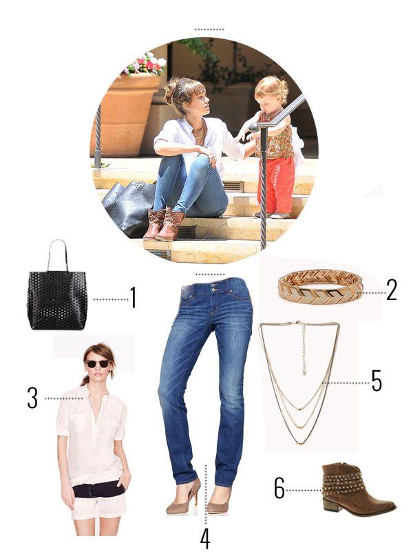 Jessica Alba Mom fashion