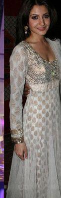 Anushka Shama Bollywood Indian Designer ETHNIC EHS Saree Sari Wedding Dress