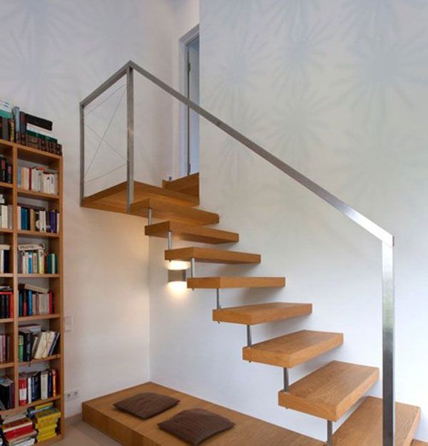 Stairs Detail Comfortable Rectangular Home In The Idyllic Country Of Austria