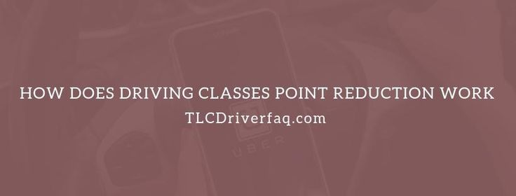 How many points does a defensive driving course take off