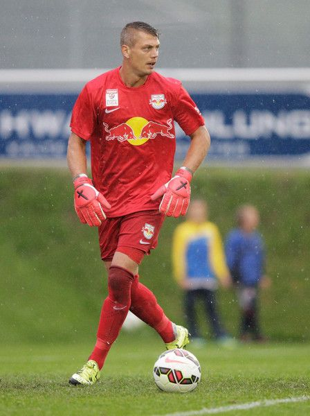 Alexander Walke Photos - Alexander Walke of Red Bull Salzburg in action during the friendly match between Red Bull Salzburg and West Brom on July 8, 2015 in Schladming, Austria. - Red Bull Salzburg v West Brom - Friendly Match