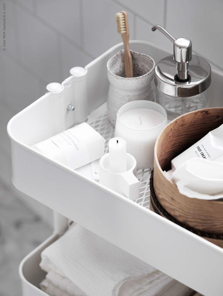 Januari är känd som årets budgetmånad, men jag tycker att vi förtjänar att spa:a om vi ska spara! Den nya badrumsförvaringen VILTO i massiv björk är ljus med en satängliknande lyster som ger en naturligt lugn känsla till badrummet.